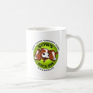 Caneca De Café logotipo dos kows