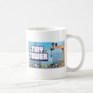 Caneca De Café Logotipo minúsculo da torre