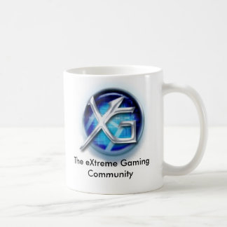 Caneca De Café logotipo novo do =XG=, a comunidade extrema do