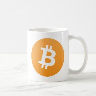 Caneca De Café Logotipo padrão 01 de Bitcoin