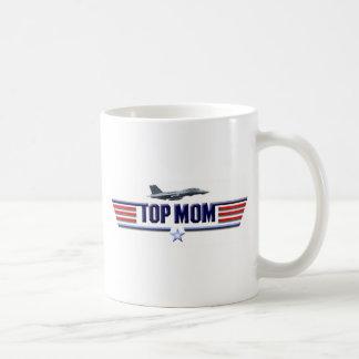 Caneca De Café Logotipo superior da mamã
