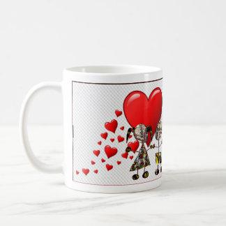 Caneca De Café Loja para o *&   MuSiCa* do dia dos namorados