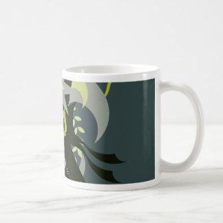 Caneca De Café Loki da abstracção sete