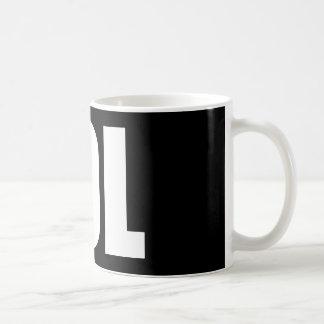 Caneca De Café LOL (escuro)