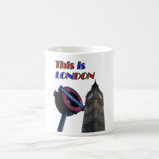 Caneca De Café Londres
