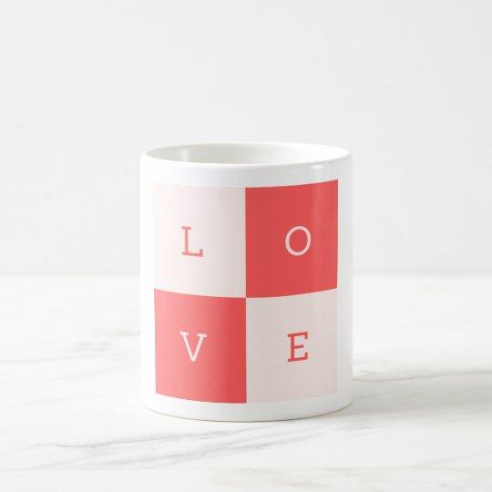 Caneca De Café Love