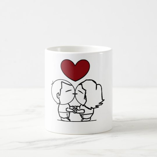 Caneca De Café Love is in the air - O amor está no ar