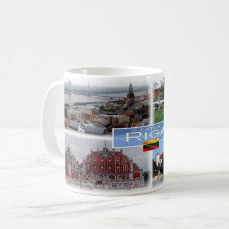 Caneca De Café LT Latvia Lietuva - Riga -