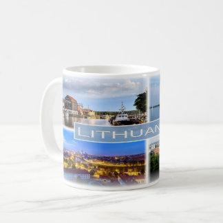 Caneca De Café LT Lithuania -