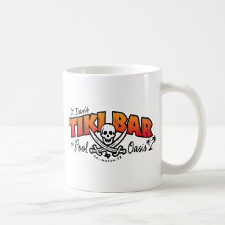 Caneca De Café Lt. Mercadoria do bar do Tiki de Dan & dos oásis