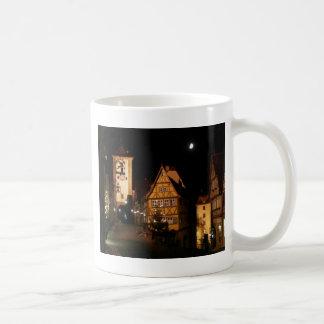 Caneca De Café Luar em Rothenburg