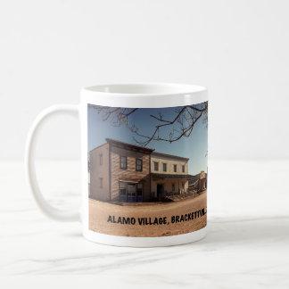 Caneca De Café Lugar do filme da vila de Alamo