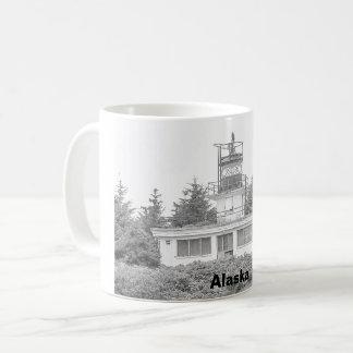 Caneca De Café Luz da ilha da guarda de Alaska
