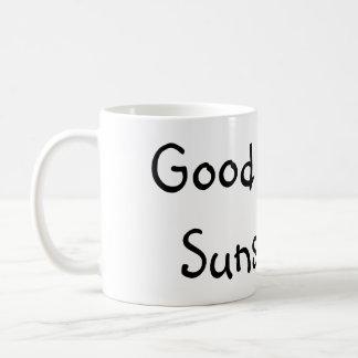 Caneca De Café Luz do sol do bom dia. (: