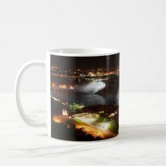 Caneca De Café Luzes da noite de Niagara Falls