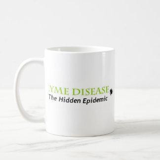 Caneca De Café lyme a epidemia escondida, lyme a epidemia