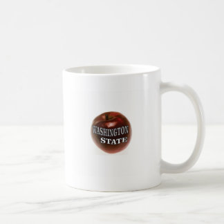 Caneca De Café Maçã do vermelho do estado de Washington