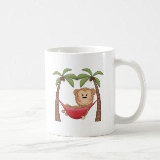 Caneca De Café Macaco de relaxamento