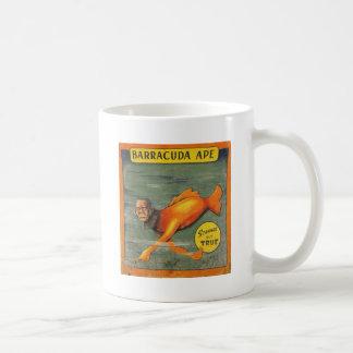 Caneca De Café Macaco do Barracuda