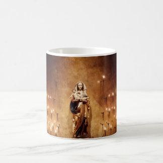 Caneca De Café Madonna & capela da criança
