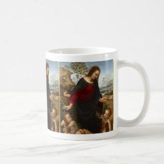 Caneca De Café Madonna e criança | Leonardo da Vinci