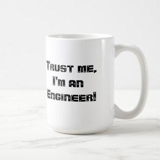 Caneca De Café Mães da confiança eu sou um engenheiro