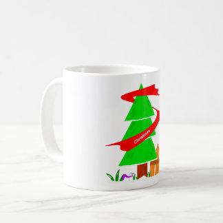 Caneca De Café Mag 2017 da árvore de Natal