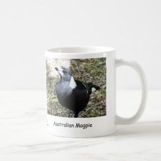 Caneca De Café Magpie australiano