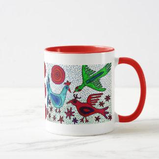 Caneca de café maia dos pássaros