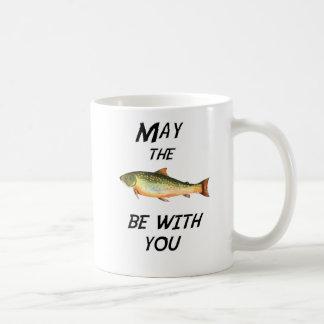 Caneca De Café Maio os peixes sejam com você