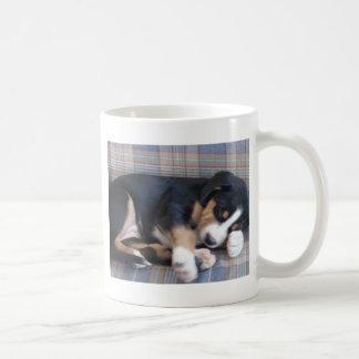 Caneca De Café maior filhote de cachorro suíço do cão da montanha