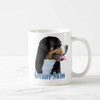 Caneca De Café Maior nome suíço do cão da montanha