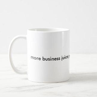 Caneca De Café Mais suco do negócio por favor