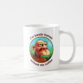 Caneca De Café Mal humano sem o café - personalizado