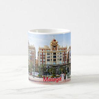 Caneca De Café Malaga. Ideia do centro da cidade