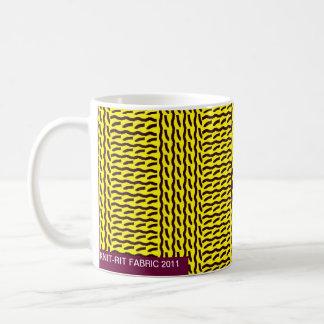 Caneca De Café Malha trocista - marque marrom amarelo/escuro do