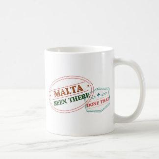 Caneca De Café Malta feito lá isso