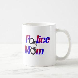 Caneca De Café Mamã da polícia