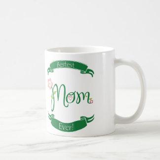 Caneca De Café Mamã de Bestest nunca