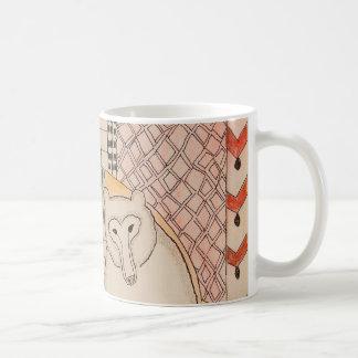 Caneca De Café Mamã de ZenobiaArt e café do urso