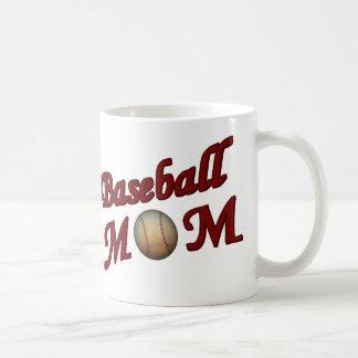Caneca De Café Mamã do basebol bonito