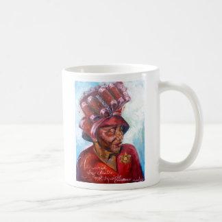 Caneca De Café Mamã do chapéu da igreja