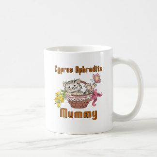 Caneca De Café Mamã do gato do Afrodite de Chipre