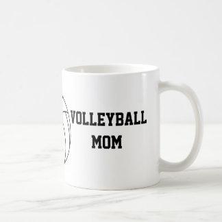 Caneca De Café Mamã do voleibol