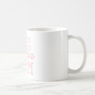 Caneca De Café Mamã francesa do Mastiff