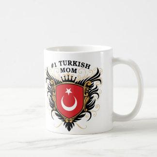 Caneca De Café Mamã turca do número um