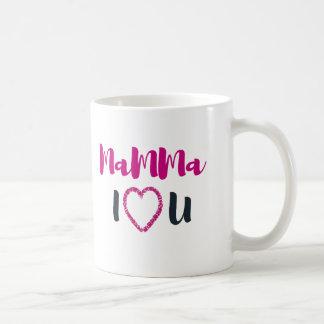 Caneca De Café Mamães eu te amo