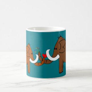 Caneca De Café Mammoths no amor