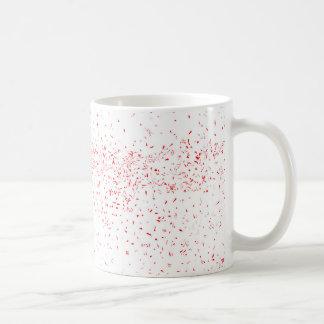 Caneca De Café Mancha vermelha