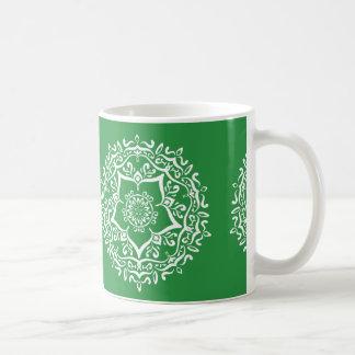 Caneca De Café Mandala da alga